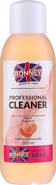 """Köröm zsírtalanító """"Dinnye"""" - Ronney Professional Nail Cleaner Melon"""