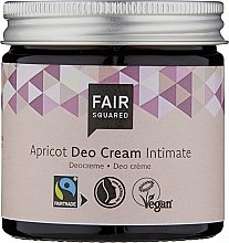 Parfüm, Parfüméria, kozmetikum Intim deo krém - Fair Squared Apricot Deo Cream Intimate