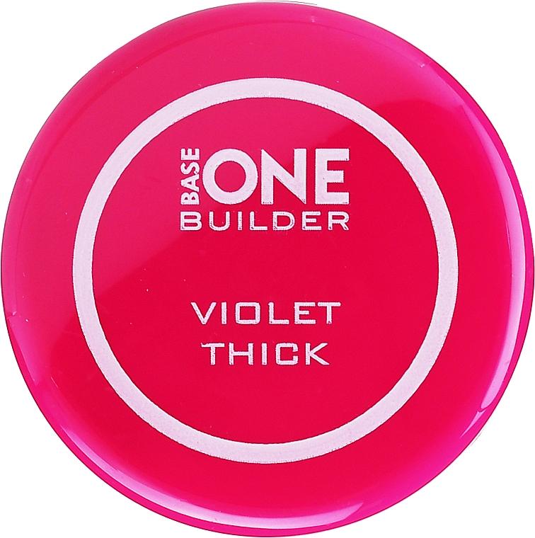 Körömépítő zselé - Silcare Base One Thick Violet