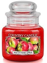 Parfüm, Parfüméria, kozmetikum Illatosított gyertya pohárban - Country Candle Macintosh Apple