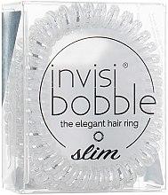 Parfüm, Parfüméria, kozmetikum Hajgumi - Invisibobble Slim Chrome Sweet Chrome