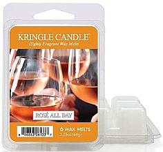 Parfüm, Parfüméria, kozmetikum Aroma viasz - Kringle Candle Rose All Day Wax Melts