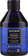Parfüm, Parfüméria, kozmetikum Neutralizáló sampon méz árnyalatra - Black Professional Line Platinum No Orange Shampoo With Organic Almond Extract