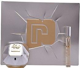Parfüm, Parfüméria, kozmetikum Paco Rabanne Lady Million Lucky - Szett (edp/80ml + edp/10ml)