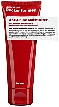Parfüm, Parfüméria, kozmetikum Hidratáló krém zsíros fény ellen - Recipe For Men Anti Shine Moisturize
