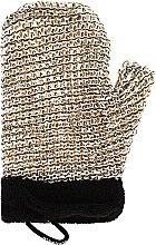 Parfüm, Parfüméria, kozmetikum Masszázs fürdőszivacs férfiaknak - Suavipiel Black Men Sisal Glove