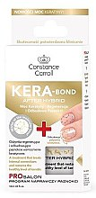 Parfüm, Parfüméria, kozmetikum Körömerősítő keratinnal - Constance Carroll Nail Care Kera-Bond After Hybrid