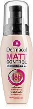 Parfüm, Parfüméria, kozmetikum Mattító hatású vízálló alapozó - Dermacol Matt Control