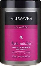 Parfüm, Parfüméria, kozmetikum Világosító púder - Allwaves Flash Maches Bleaching Colouring Powder