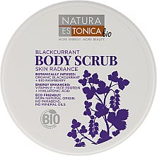 "Parfüm, Parfüméria, kozmetikum Bőrradír ""Fekete ribizli"" - Natura Estonica Black Currant Body Scrub"