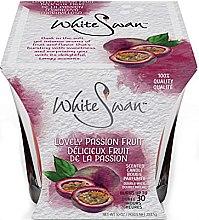 """Parfüm, Parfüméria, kozmetikum Illatosított gyertya """"Marakuja"""" - White Swan Lovely Passion Fruit"""
