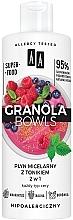 Parfüm, Parfüméria, kozmetikum Micellás víz tonikkal minden bőrtípusra - AA Granola Bowls Micellar Water And Tonic 2 in 1