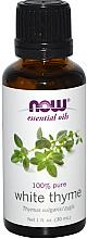 Parfüm, Parfüméria, kozmetikum Fehér kakukkfű illóolaj - Now Foods Essential Oils 100% Pure White Thyme