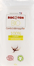 Parfüm, Parfüméria, kozmetikum Pamut korong, kockás, 75x75 mm, 40 db - Bocoton
