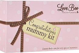 Parfüm, Parfüméria, kozmetikum Készlet - Love Boo Congratulations Mummy Kit (b/oil/100ml + oil/190ml + b/lot/100ml)