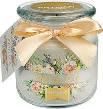 Parfüm, Parfüméria, kozmetikum Illatosított gyertya, 10x11 cm, 360 g. - Artman All the Best