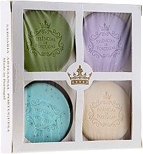 Parfüm, Parfüméria, kozmetikum Szett - Essencias De Portugal Senses Natural (soap/4x50g) (4 x 50 g)