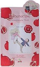 Parfüm, Parfüméria, kozmetikum Szövetmaszk gránátalma kivonattal - Sally's Box Loverecipe Pomegranate Mask