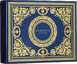 Parfüm, Parfüméria, kozmetikum Versace Pour Homme - Szett (edt/50ml + sh/g/50ml + ash/balm/50ml)