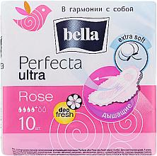 Parfüm, Parfüméria, kozmetikum Egészségügyi betét Perfecta Rose Deo Fresh Drai Ultra, 10db - Bella