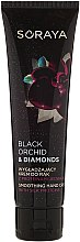 Parfüm, Parfüméria, kozmetikum Simító kézkrém selyem proteinnel - Soraya Black Orchid & Diamonds Smoothing Hand Cream