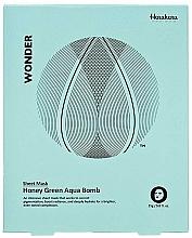 Parfüm, Parfüméria, kozmetikum Szövetmaszk - Haruharu Wonder Honey Green Aqua Bomb Mask