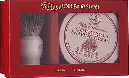 Parfüm, Parfüméria, kozmetikum Szett - Taylor of Old Bond Street Cedarwood (sh/brash + sh/cream/150g)
