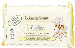 Parfüm, Parfüméria, kozmetikum Gyermek nedves törlőkendő, 60 db. - Anthyllis Cleansing Wipes