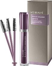 Parfüm, Parfüméria, kozmetikum Szempillaspirál - M2Beaute Quick-Change Artists 3 Look Black Nano Mascara