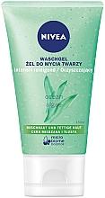 Parfüm, Parfüméria, kozmetikum Mattító mosakodó gél zsíros bőrre - Nivea Aqua Effect