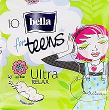 Parfüm, Parfüméria, kozmetikum Egészségügyi betét For Teens Ultra Relax, 10 db - Bella
