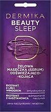 Parfüm, Parfüméria, kozmetikum Frissítő és nyugtató gélmaszk - Dermika Beauty Sleep