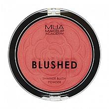 Parfüm, Parfüméria, kozmetikum Pirosító - MUA Blushed Shimmer Blush Powder
