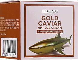 Parfüm, Parfüméria, kozmetikum Fiatalító krém arany és kaviár kivonattal - Lebelage Ampoule Cream Gold Caviar