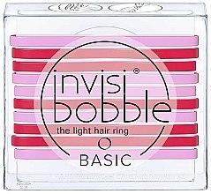 Parfüm, Parfüméria, kozmetikum Hajgumi szett - Invisibobble Basic Jelly Twist