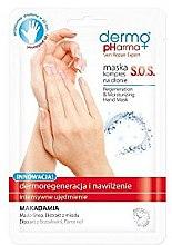 Parfüm, Parfüméria, kozmetikum Regeneráló kézmaszk - Dermo Pharma Skin Repair Expert S.O.S. Regeneration & Moisturizing Hand Mask