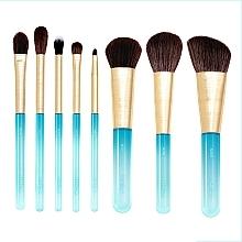 Parfüm, Parfüméria, kozmetikum Smink ecset készlet, 8db - Nabla Aquamarine Essential Brush Set