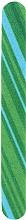 Parfüm, Parfüméria, kozmetikum Körömreszelő 12 cm, 77579, zöld-világoskék - Top Choice