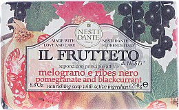 """Parfüm, Parfüméria, kozmetikum Szappan """"Gránátalma és fekete ribizli"""" - Nesti Dante Il Frutteto Soap"""