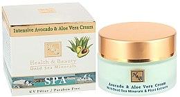 "Parfüm, Parfüméria, kozmetikum Intenzív krém ""Avokádó és Aloe"" - Health And Beauty Intensive Avocado & Aloe Vera Cream"