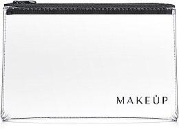 "Parfüm, Parfüméria, kozmetikum Neszeszer, átlátszó ""Flat Glow"" 26x16cm - MakeUp"