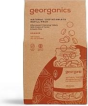 "Parfüm, Parfüméria, kozmetikum Fogtisztító tabletta ""Narancs"" - Georganics Natural Toothtablets Orange (utántöltő)"