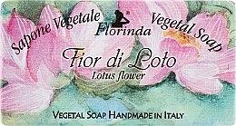 """Parfüm, Parfüméria, kozmetikum Természetes szappan """"Lótusz virág"""" - Florinda Sapone Vegetale Vegetal Soap Lotus Flower"""