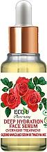 Parfüm, Parfüméria, kozmetikum Arcszérum - Eco U Natural Face Serum Deep Hydration Overnight Treatment