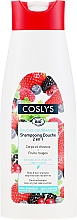 Parfüm, Parfüméria, kozmetikum Organikus sampon és tusfürdő piros bogyó kivonattal - Coslys Body Care Body And Hair Shampoo With Red Berries