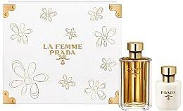 Parfüm, Parfüméria, kozmetikum Prada La Femme Prada - Szett (edp/100ml + b/lot/100ml)