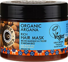 Parfüm, Parfüméria, kozmetikum Helyreállító hajmaszk - Planeta Organica Organic Argana Rich Hair Mask