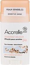 Parfüm, Parfüméria, kozmetikum Dezodor-stift - Acorelle Deodorant Stick Gel Almond Blossom