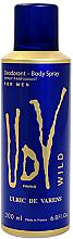 Parfüm, Parfüméria, kozmetikum Ulric de Varens UDV Wild - Dezodor