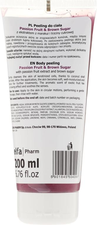 "Testradír ""Maracuja és Barna cukor"" - Fresh Juice Passion Fruit & Brown Sugar — fotó N2"